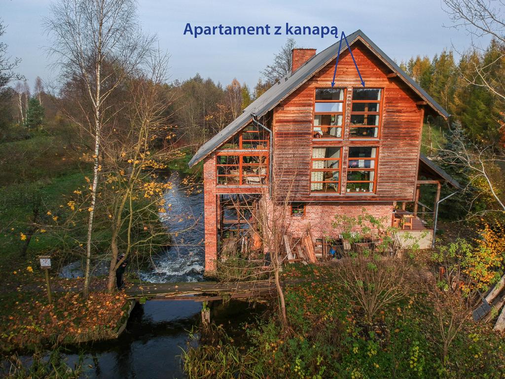 Apartament z widokiem na rzekę