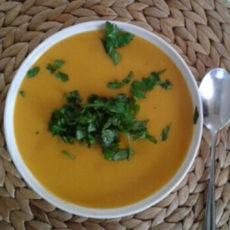 zupa ze slodkich ziemnakow